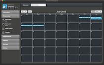Nano Service Management. Calendar